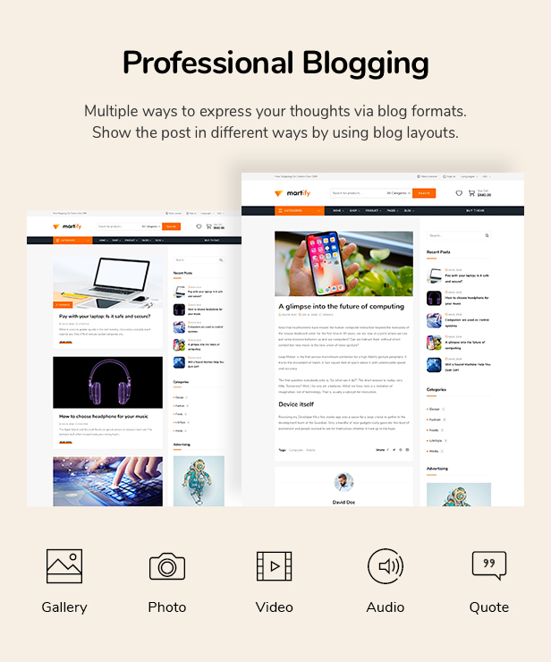 Martify - WooCommerce Marketplace WordPress Theme - 24