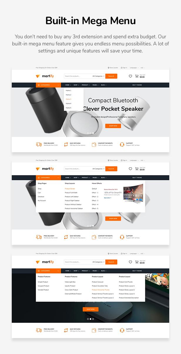 Martify - WooCommerce Marketplace WordPress Theme - 11