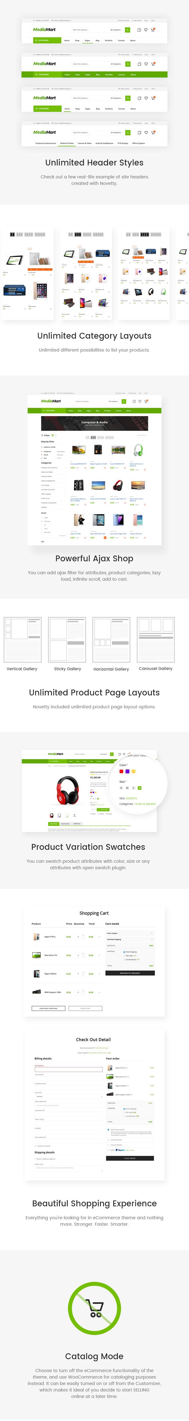 MediaMart – Gadgets & Digital Responsive WooCommerce WordPress Theme, Gobase64